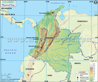 Geography and Environment - COLOMBIA on climate map of americas, climate map of saint lucia, climate map of bahamas, climate map of the world, climate map of trinidad and tobago, climate map of vanuatu, climate map of netherlands, climate map of malaysia, climate map of united arab emirates, climate map of malawi, climate map of burundi, climate map of togo, climate map of lesotho, climate map of guinea, climate map of slovenia, climate map of andes, climate map of moldova, climate map of qatar, climate map of senegal, climate map of lebanon,